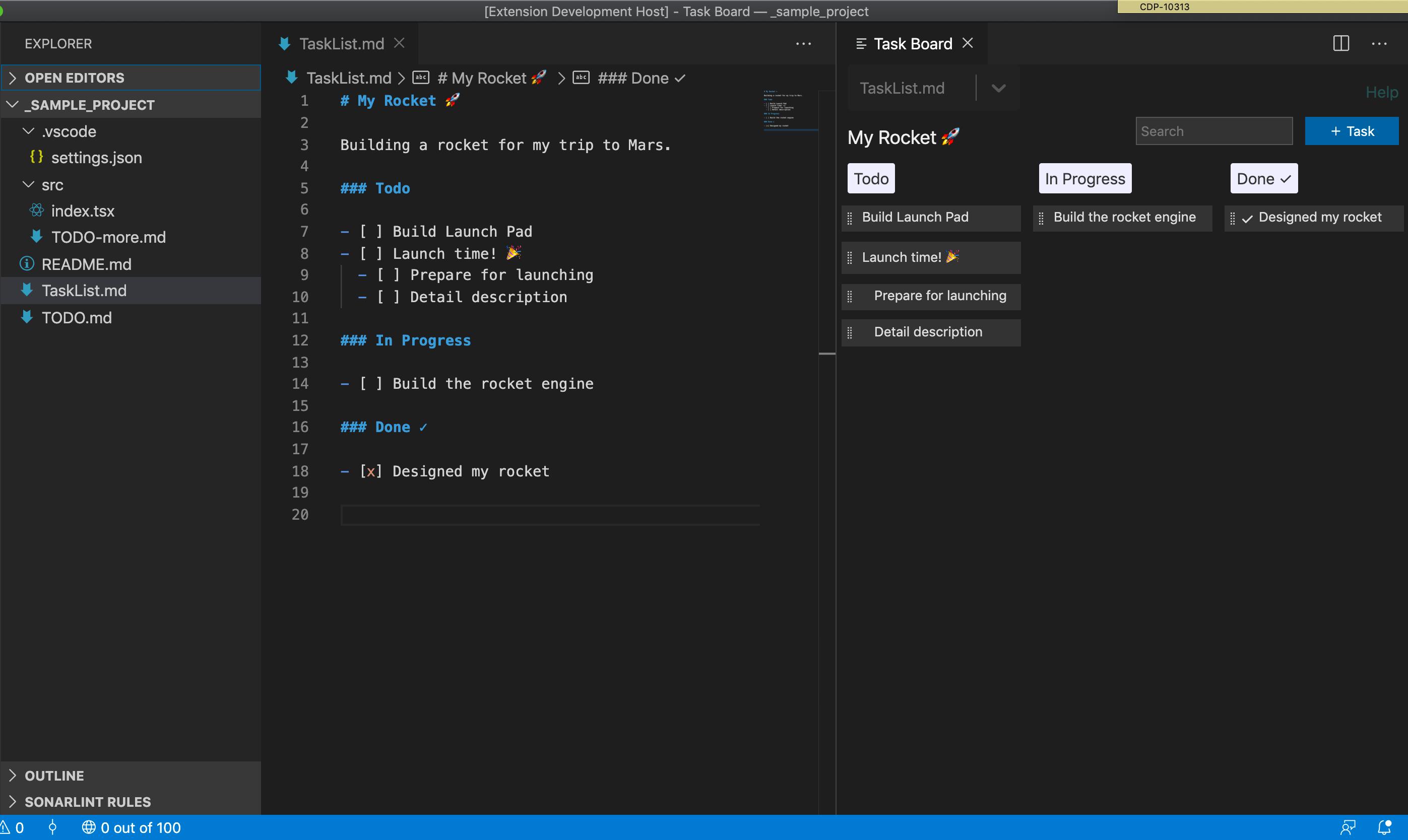 纯文本文件格式_Todo Kanban Board - 使用纯文本 markdown 文件管理项目任务。 Manage ...
