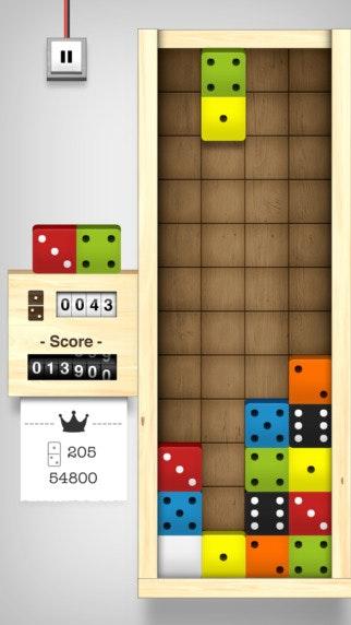 智力游戏多米诺骨牌_Domino Drop - 俄罗斯方块喜欢与多米诺骨牌和重力的益智游戏 Tetris ...